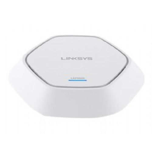 Linksys Dual Band Business Wireless Access Point - IEEE 802.11 a/b/g/n, 2.4GHz & 5GHz, Up to 11 Channels, 4x Internal Antenna, 600 Mbps, PoE+ 1000Base-T RJ-45, Encrypted, VLAN support - LAPN600