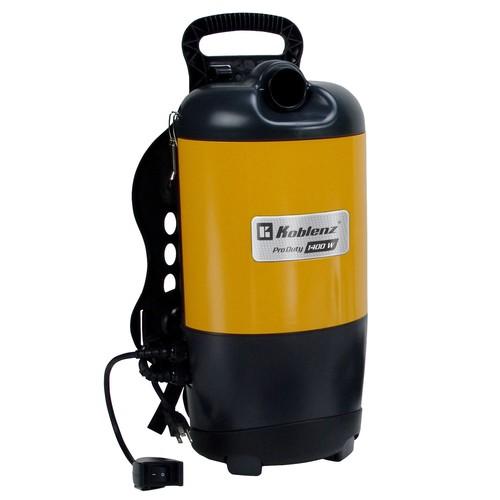 Koblenz BP-1400 Commercial Grade Backpack Vacuum Cleaner - Corded