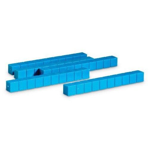 Learning Resources Plastic Base Ten Rods, Set of 50 [1]