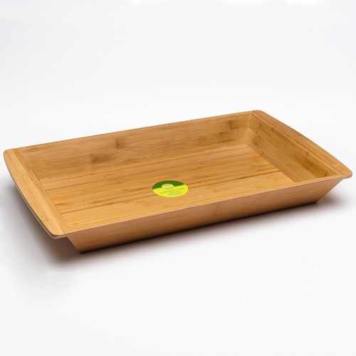 Food Network Bamboo Breakfast Serving Tray