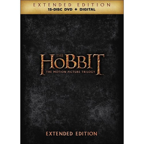 The Hobbit: The Motion Picture Trilogy [Extended Edition] [DVD]