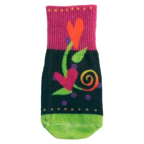 Ultra Paws Gerty Style Dog Socks - Brown/Green