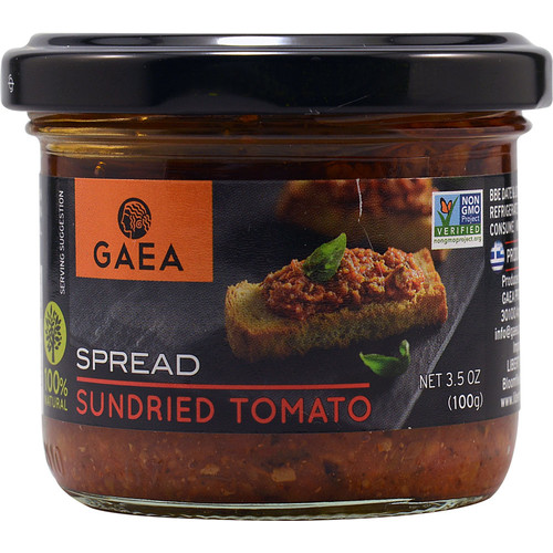 Gaea Sundried Tomato Spread -- 3.5 oz