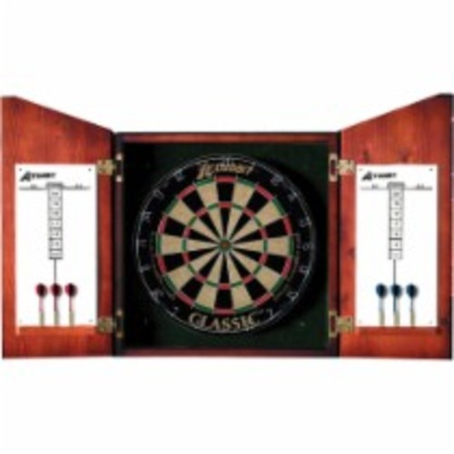 Accudart - Union Jack Dartboard Cabinet and Set