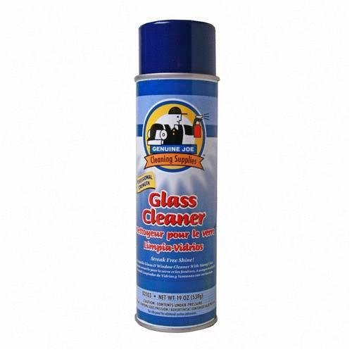 Genuine Joe 02103 Glass and Multi-Surface Cleaner, Aerosol Can, 19 oz.