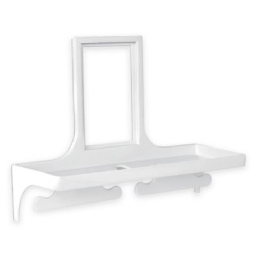 Outlet Wall Organizer in White