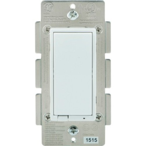 GE Bluetooth In-Wall Smart Dimmer - White (13870)