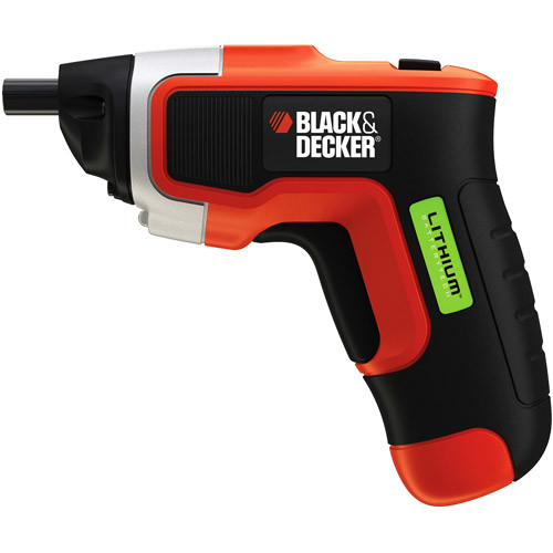 BLACK+DECKER LI3100 Compact Lithium-Ion Driver with Cordless Rechargeable Screwdriver