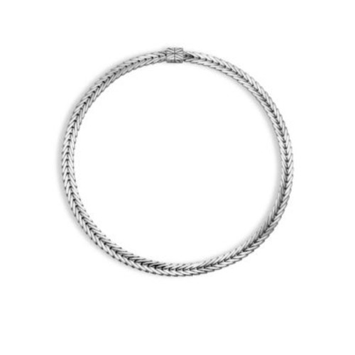 Modern Chain Silver Small Necklace