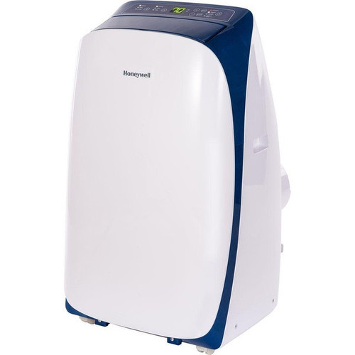 Honeywell HL14CESWB HL Series 14,000 BTU Portable Air Conditioner with Remote Control - White/Blue - Blue
