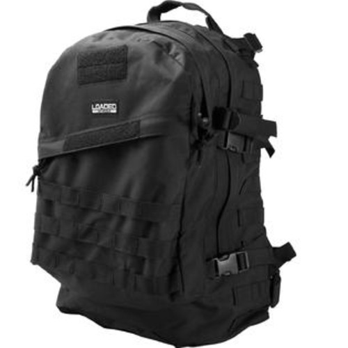Barska Loaded Gear GX-200 Tactical Backpack - Black per EA