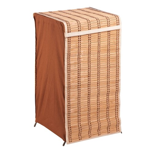 Honey-Can-Do Bamboo Wicker Laundry Hamper