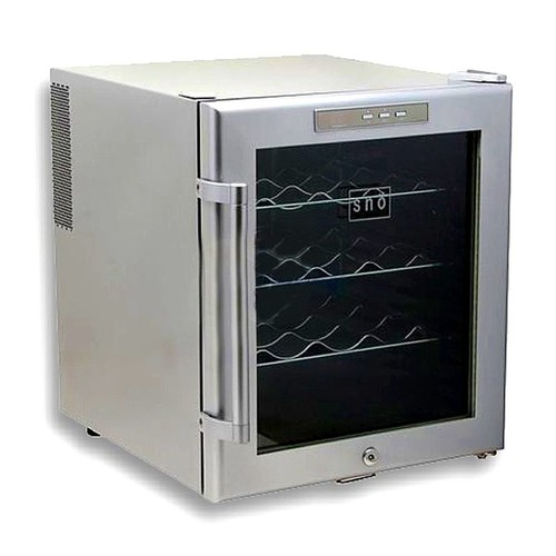 Whynter WC-16S Thermoelectric 16-Bottle Wine Cooler - Platinum
