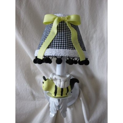 Silly Bear Bee My Baby 1-Light Armed Sconce; Bee My Baby