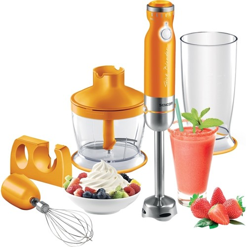 Sencor - 27-Oz Hand Blender - Orange