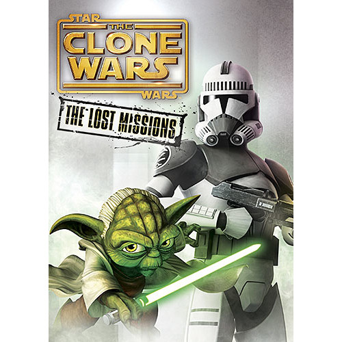 Star Wars: The Clone Wars: The Lost Missions (DVD)