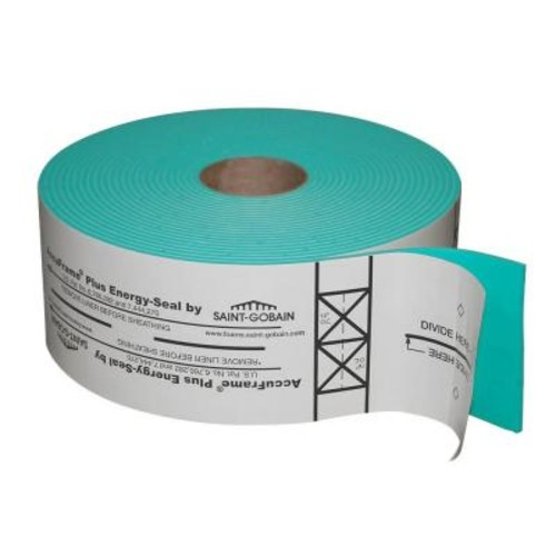 AccuFrame 4-7/8 in. x 50 ft. Foam Tape for Air Sealing and Precision-Framing Guide Tape on Wall Systems (3-Rolls per Case)