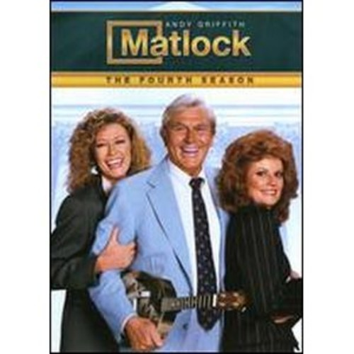 Matlock: The Fourth Season [6 Discs]