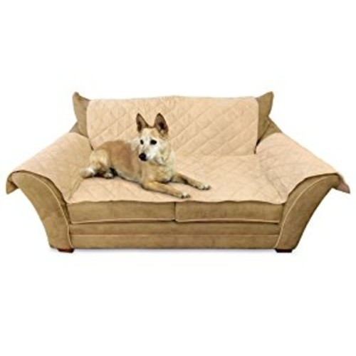 K&H Manufacturing Furniture Cover [Tan, Standard Packaging, Loveseat]