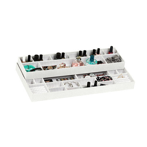 South Shore Furniture Storit Triangle Jewelry Drawer Organizer