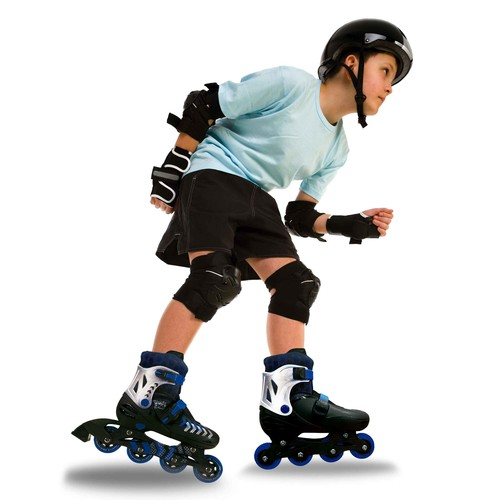 Rush 360 Inline Skates with Protective Gear Set