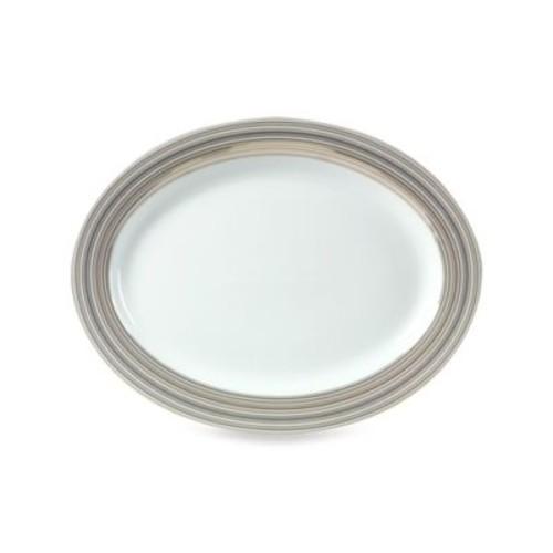 Mikasa Microstripe 16-Inch Platter