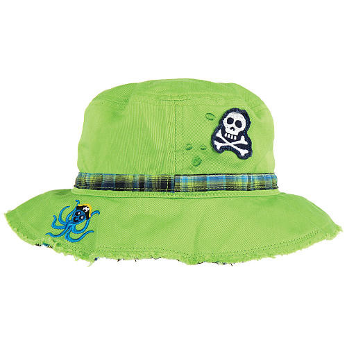 Stephen Joseph Bucket Hat - Octopus/Pirate
