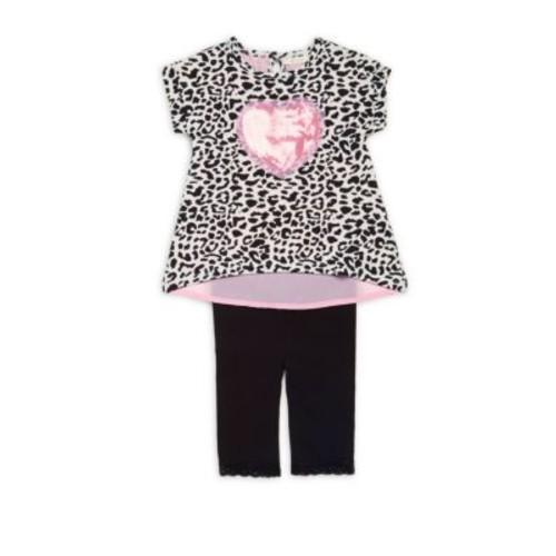 Miniclasix - Baby's Two-Piece Top & Capri Pants Set