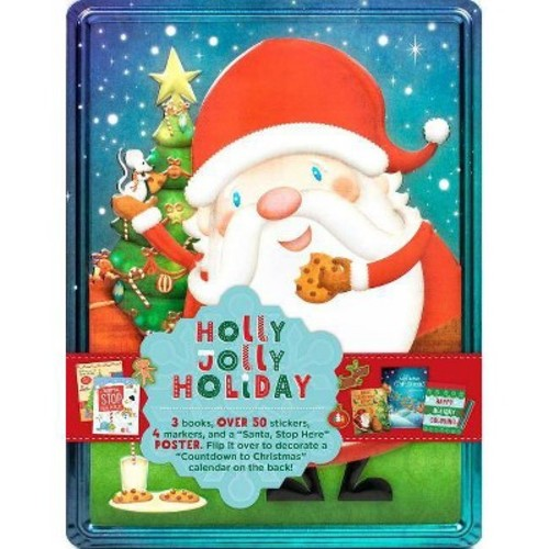 Holly Jolly Holiday Collector's Tin (Paperback)