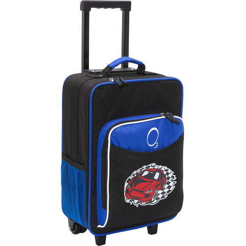 Kids Racecar Luggage With Integrated Cooler