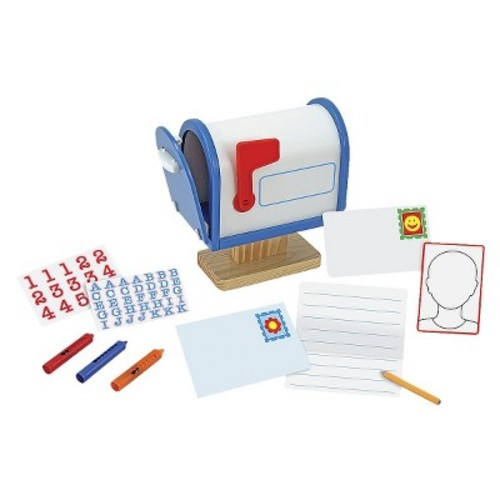 Melissa & Doug My Own Wooden Mailbox Activity Set and Educational Toy