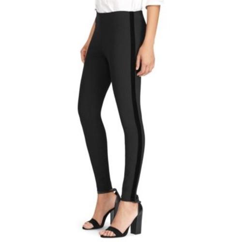 Velvet Tuxedo Stripe Pants