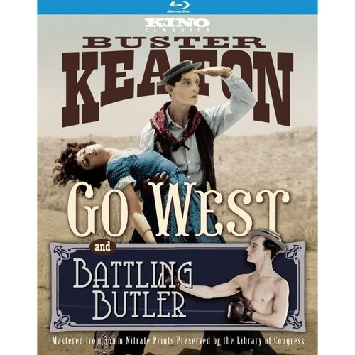 Battling Butler/Go West [2 Discs] [Blu-ray]