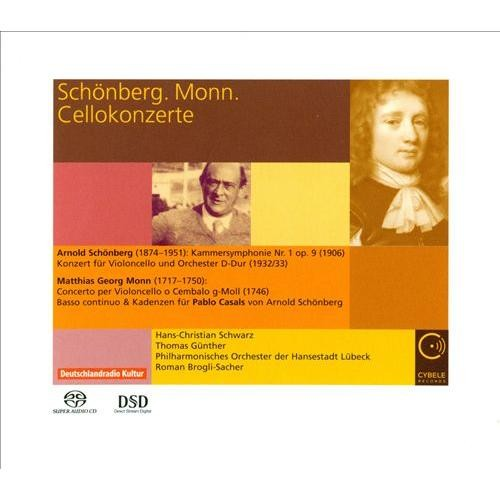 Schonberg & Mom: Cello Works - CD