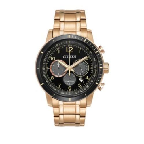 Eco-Drive Chronograph Analog Watch