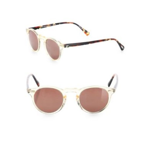 Gregory 47MM Round Sunglasses