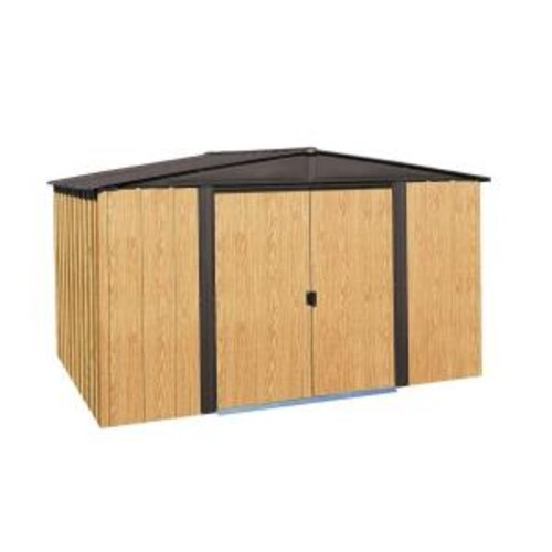 Arrow Woodlake 10 ft. x 8 ft. Steel Storage Building