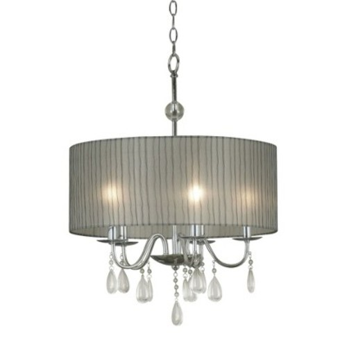 Arpeggio 5 Light Pendant - Chrome Finish