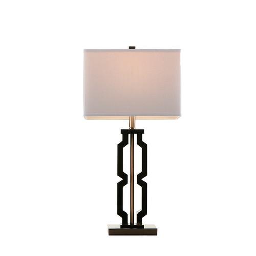 Madison Park Signature Moderne Black Table Lamp
