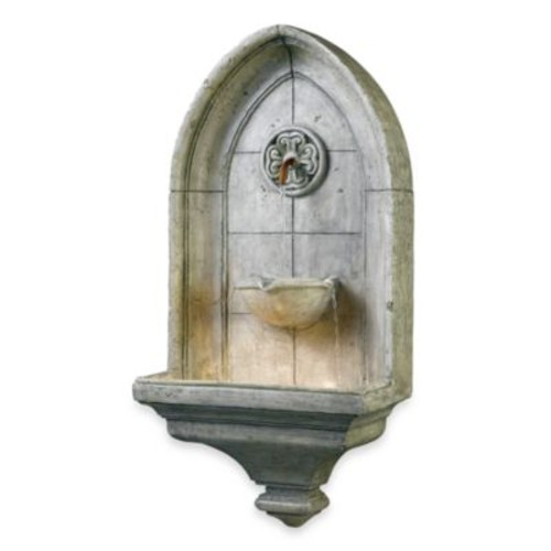Kenroy Home Canterbury Indoor/Outdoor Wall Fountain