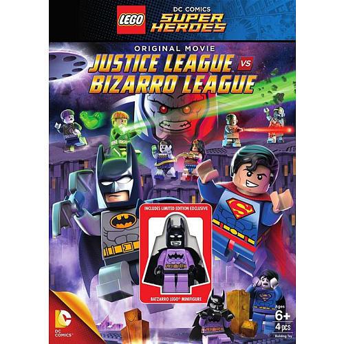 Lego: Justice League vs Bizarro League DVD