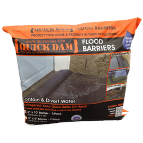 Quick Dam 10-ft L x 6-in W Self-Inflating Flood Bag
