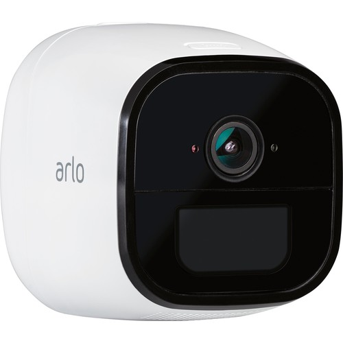 Arlo - Go Mobile Indoor/Outdoor 3G/4G LTE Wire-Free Surveillance Camera - White