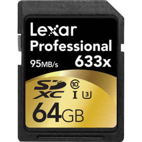 64GB Professional UHS-I SDXC Memory Card (U3)