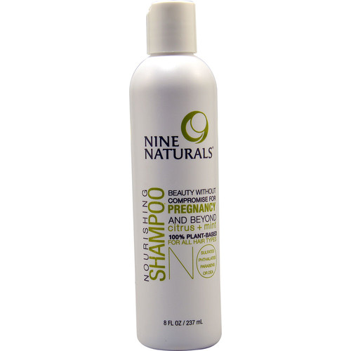 Nine Naturals Nourishing Shampoo Citrus plus Mint -- 8 fl oz