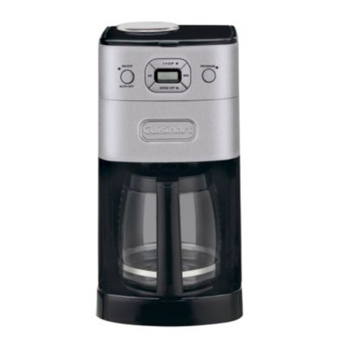 Cuisinart Grind & Brew 12 Cup Automatic Coffeemaker, Black/Silver