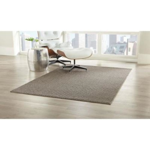 Home Decorators Collection Messina Grey 9 ft. 2 in. x 11 ft. 11 in. Indoor/Outdoor Area Rug