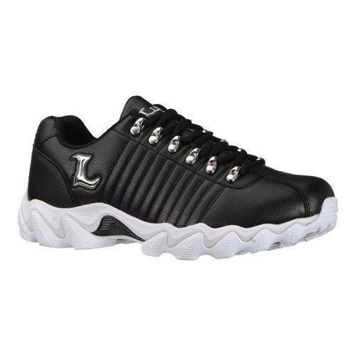 Men's Lugz Fortitude Black/Silver Leather