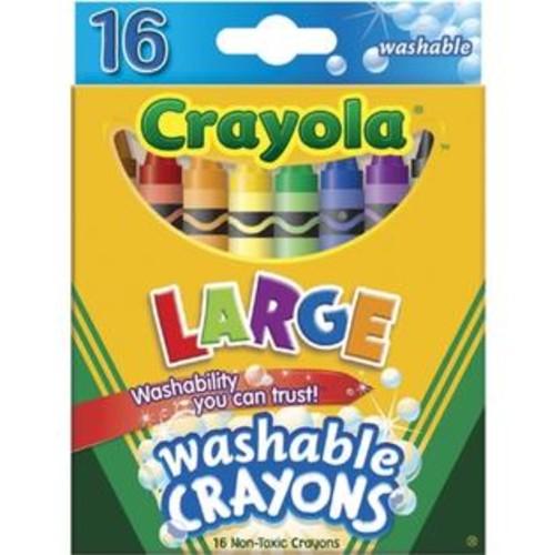 Crayola 52-3281 Crayola Large Washable Crayons