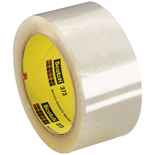 Scotch 373 Carton-Sealing Tape, 3